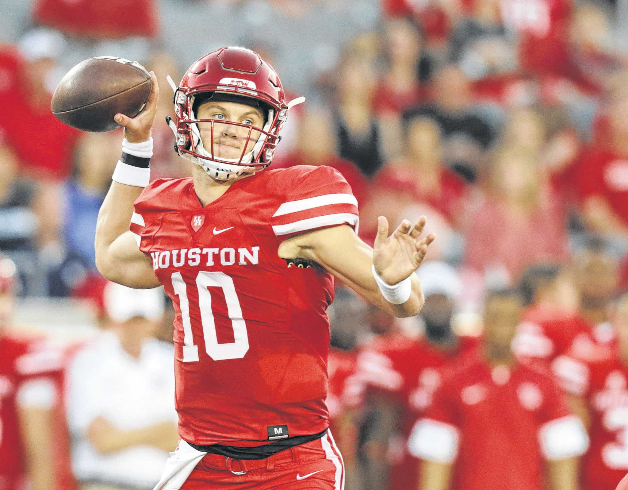 Uh Quarterback Kyle Allen Foregoes Final Year Of Eligibility To Enter Nfl Draft Houstonchronicle Com