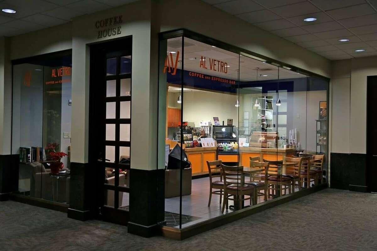 20. Al Vetro Coffee & Espresso Bar 6560 Fannin St Houston, TX 77030 Source:Yelp/Al Vetro Coffee & Espresso Bar