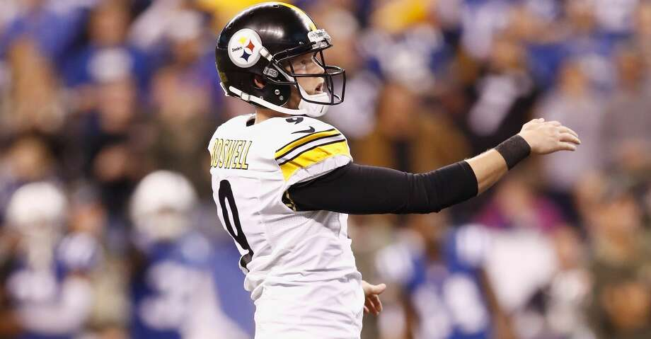 After rewriting Rice's record books, Chris Boswell has become a record-setting kicker in just three years in the NFL. Photo: Andy Lyons/Getty Images