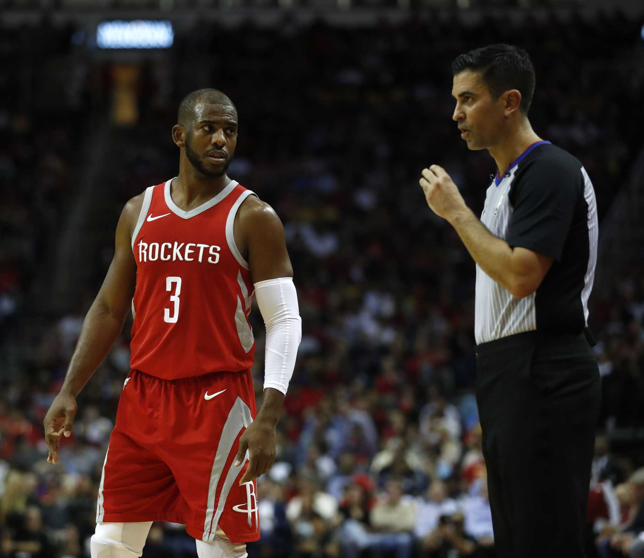 Houston Rockets Record 2018: Rockets' Chris Paul Left Off 2018 NBA All-Star Roster