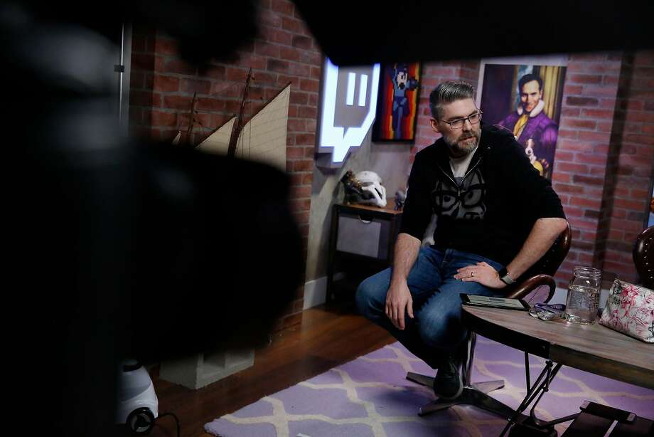 Marcus 'DJ Wheat' Graham, who lives in the Mission District in San Francisco, is the director of programming at Twitch TV. Photo: Lea Suzuki, The Chronicle
