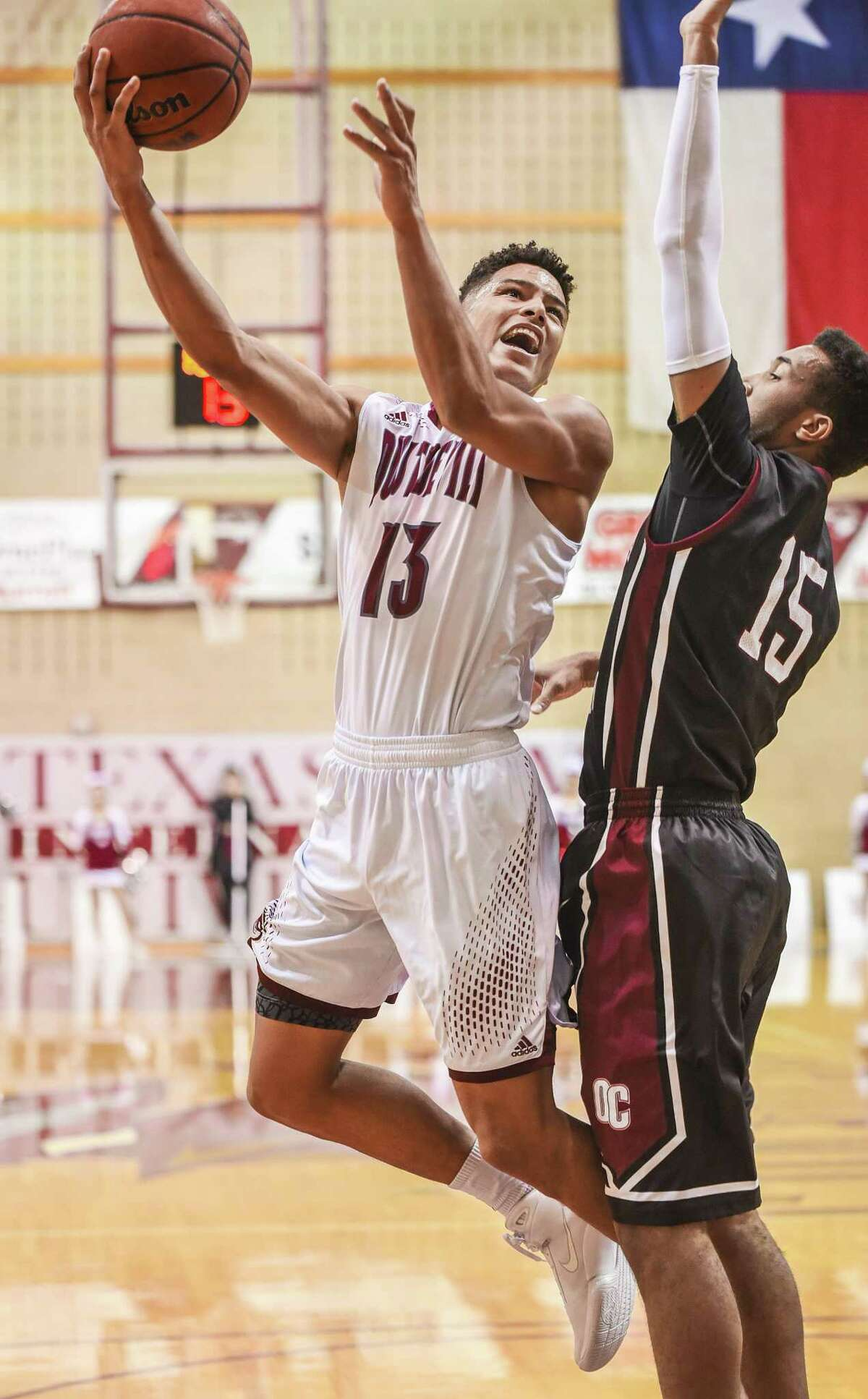 TAMIU leading scorer Xabier Gomez was held to two points in Thursday's loss and has been limited to seven total points the past two games.