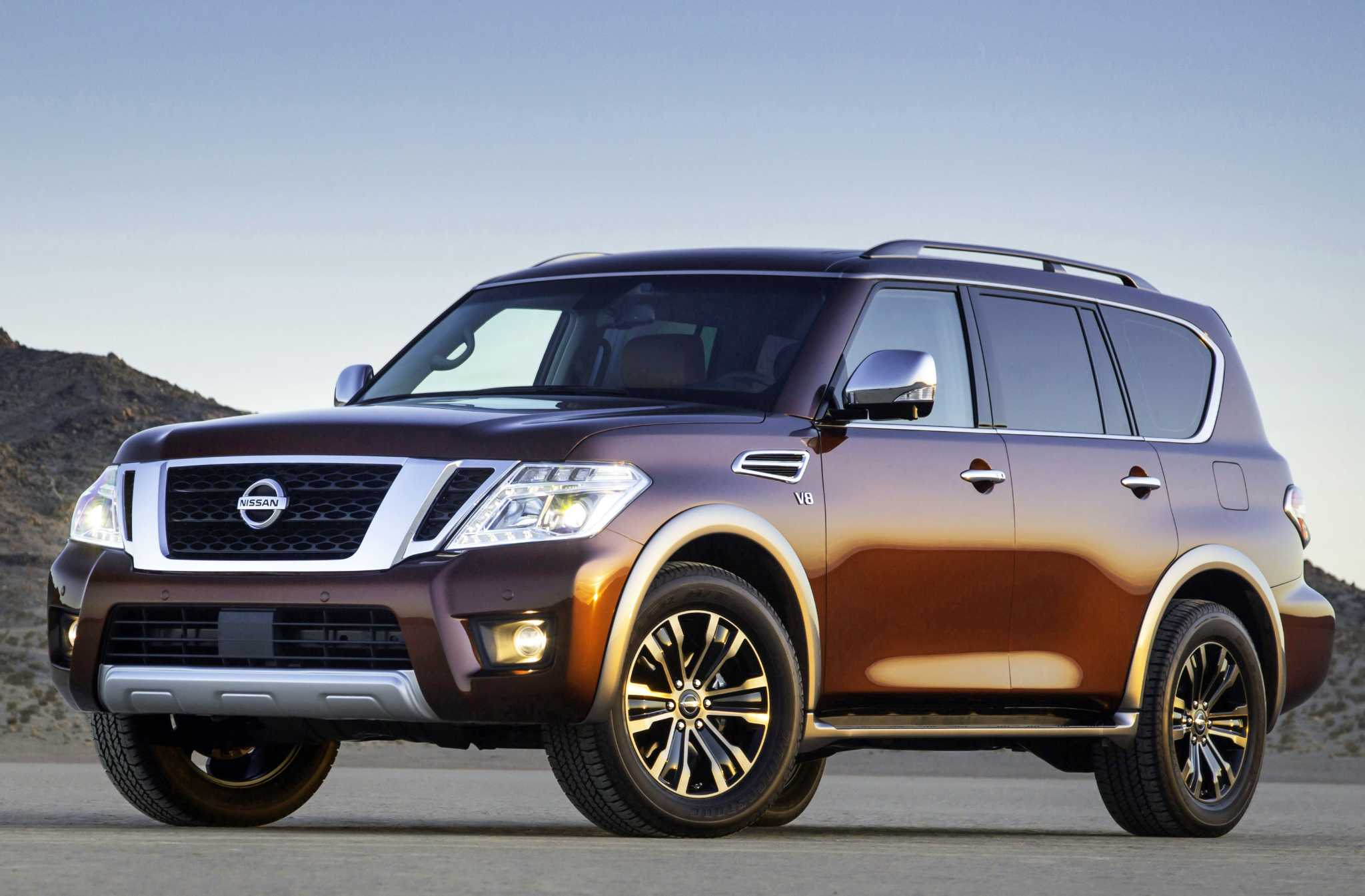 Nissan Armada has room for up to eight, starts at $45,600