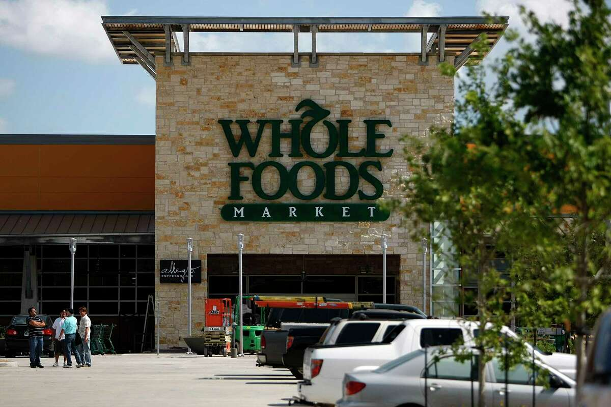 The Whole Foods Market Montrose is Green Globes certified because of it's use of recycled and energy-efficient materials and green building approaches Wednesday, June 15, 2011, in Houston. ( Johnny Hanson / Houston Chronicle ) STORE FRONT