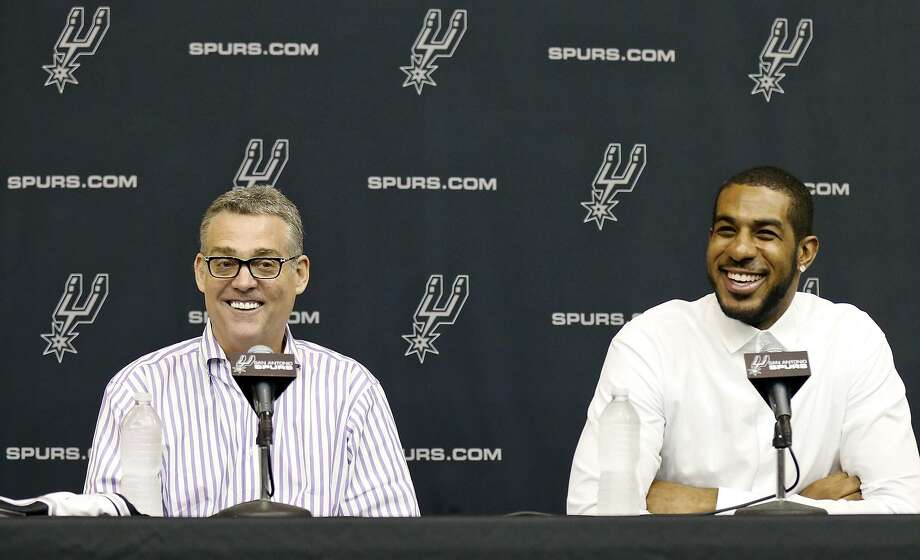 R. C. Buford is eager to get all of the Spurs healthy so he can evaluate what he has. Photo: Edward A. Ornelas /San Antonio Express-News / © 2015 San Antonio Express-News