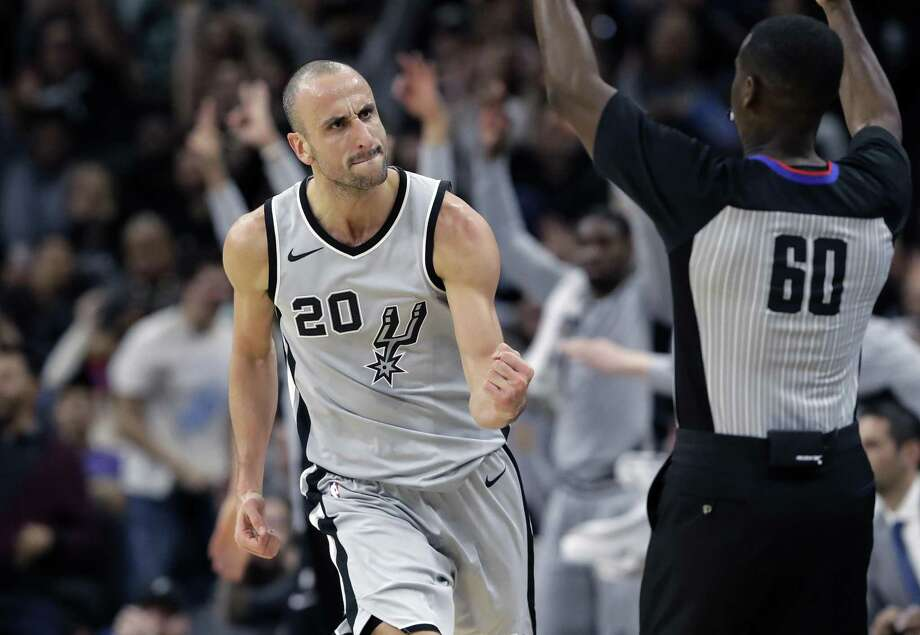 Manu Ginobili's golden years compare with all-time greats. Photo: Eric Gay /Associated Press / Copyright 2018 The Associated Press. All rights reserved.