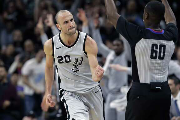 Manu Ginobili's golden years compare with all-time greats.