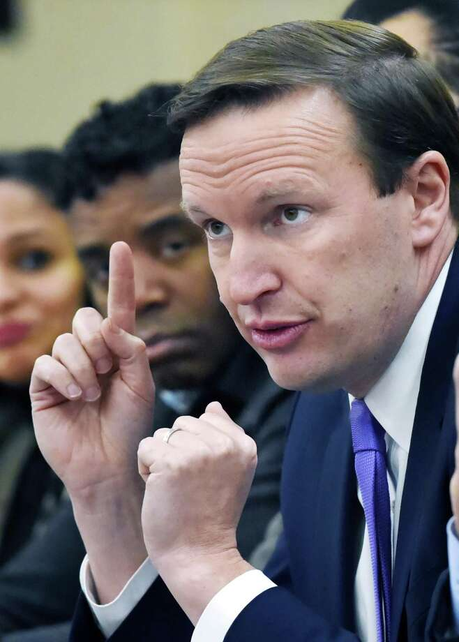 U.S. Sen. Chris Murphy Photo: Catherine Avalone / Hearst Connecticut Media / New Haven Register