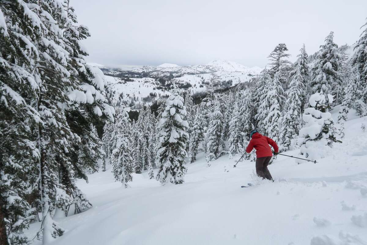 Kirkwood ski resort has received over 21 inches on its slopes in the past eight days.