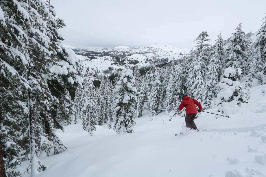 Kirkwood ski resort has received over 21 inches on its slopes in the past eight days. Photo: Kirkwood Mountain Resort