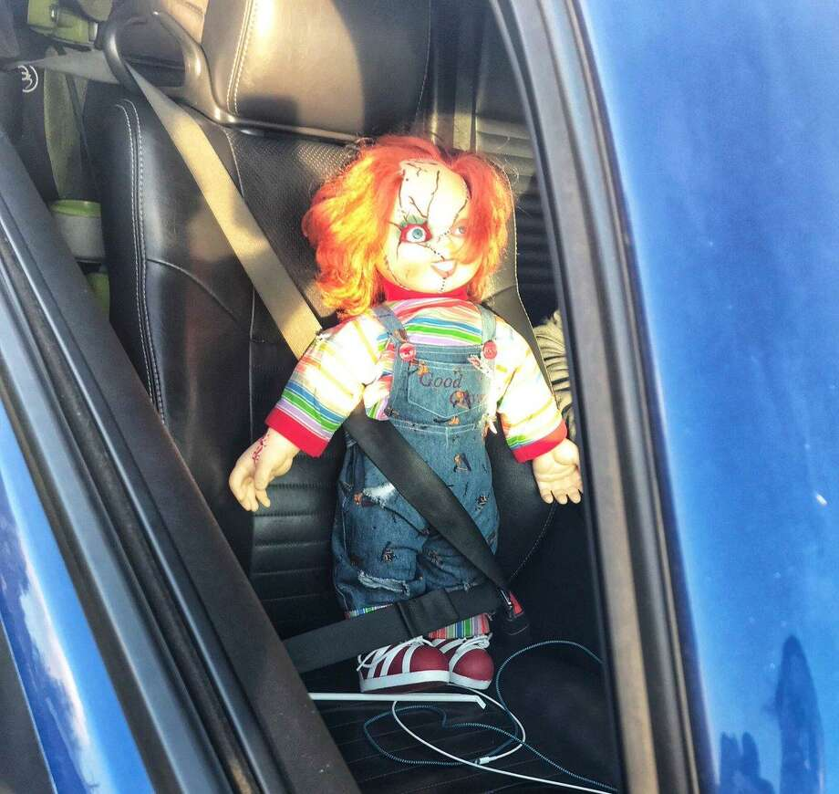 A man tried to use a Chucky Doll as a second passenger to drive in the carpool lane on a highway in Concord, officials said. Photo: California Highway Patrol / / California Highway Patrol