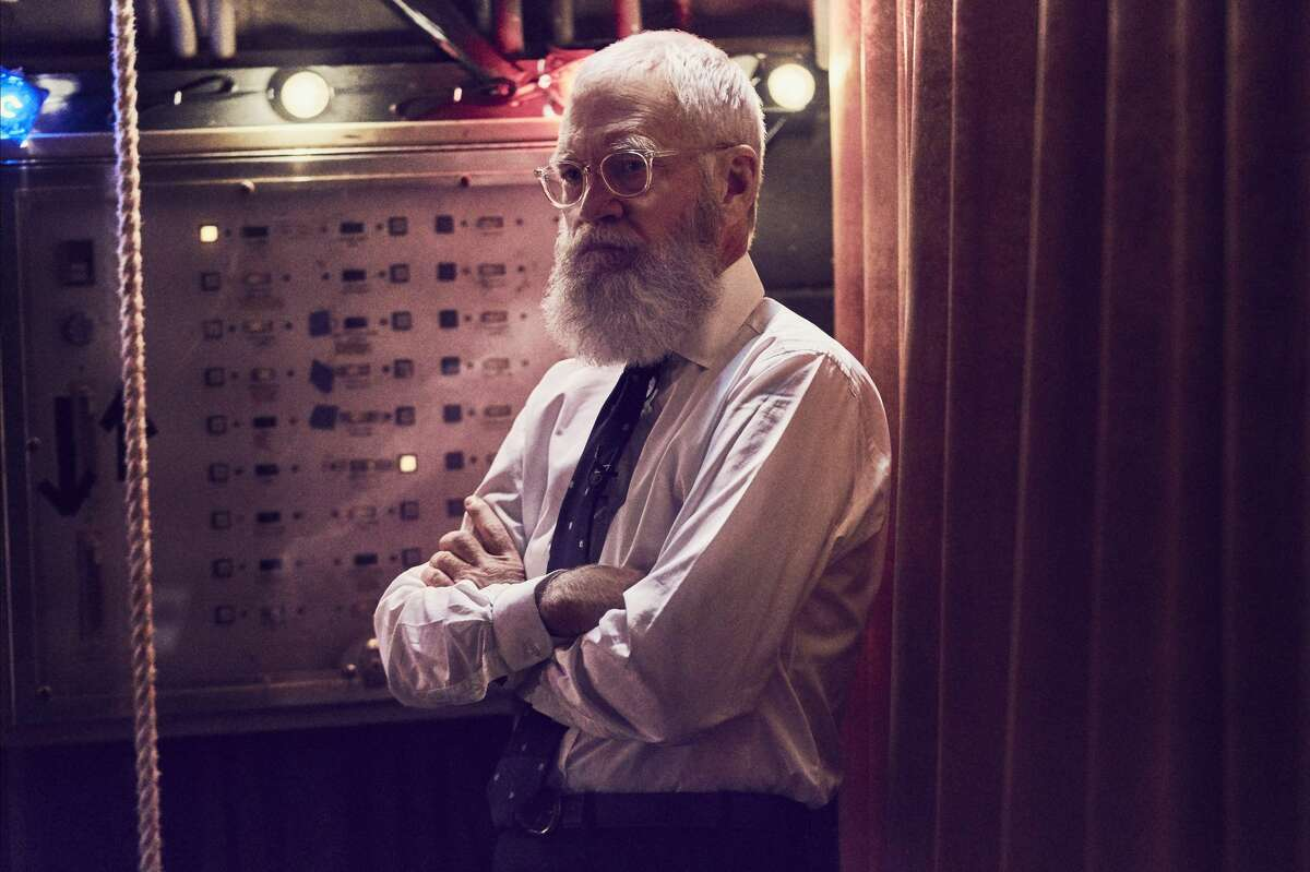 """David Letterman in """"My Next Guest Needs No Introduction With David Letterman."""""""