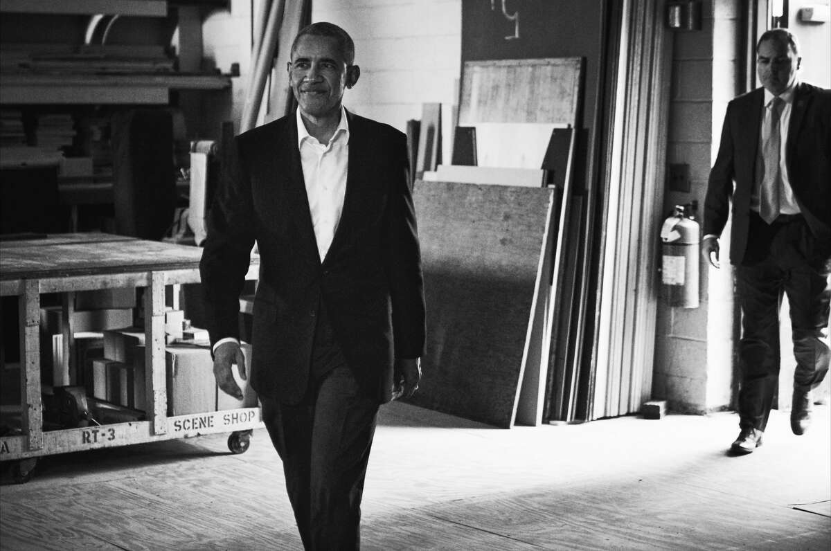 """Former President Barack Obama on """"My Next Guest Needs No Introduction With David Letterman."""""""
