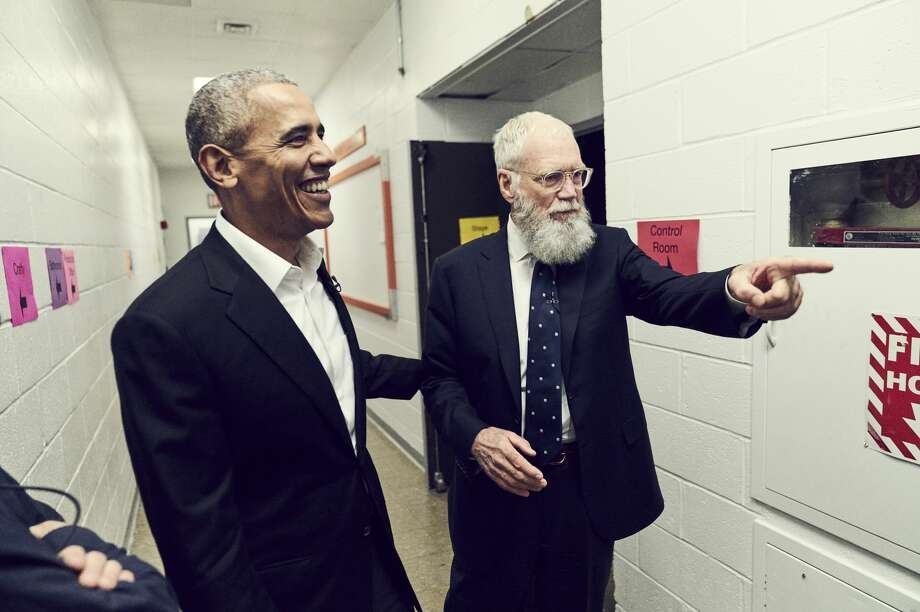 """Former President Barack Obama on """"My Next Guest Needs No Introduction With David Letterman."""" Photo: Netflix"""