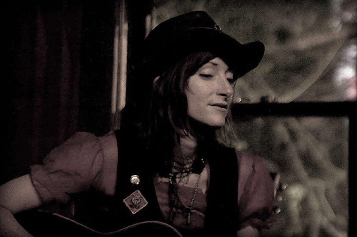Amy Annelle is a folk music singer and songwriter who lives outside of Austin.