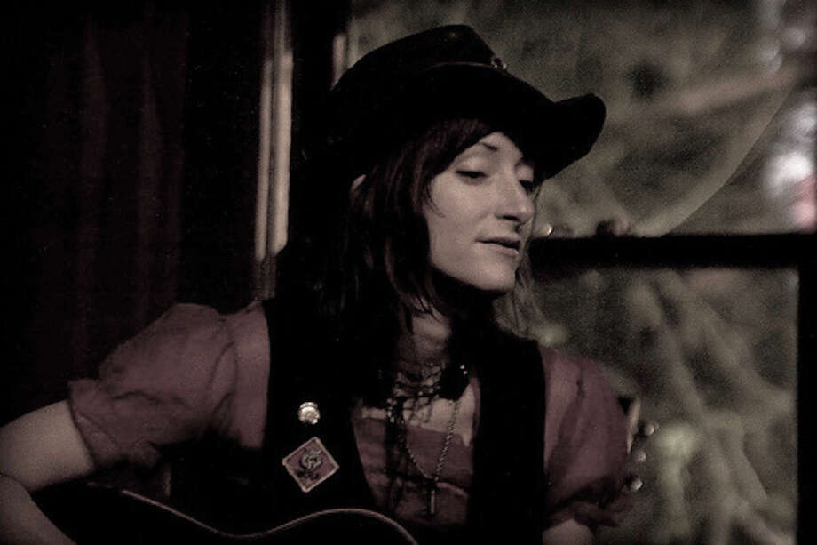 Amy Annelle is a folk music singer and songwriter who lives outside of Austin. Photo: Courtesy Photo