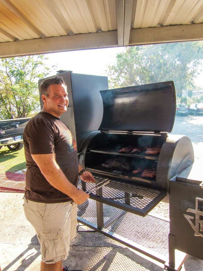 In 2012, Ronnie Killen set up a tent and a table in the parking lot of his Pearland steakhouse after deciding to get back into the business of selling barbecue. Photo: J.C. Reid