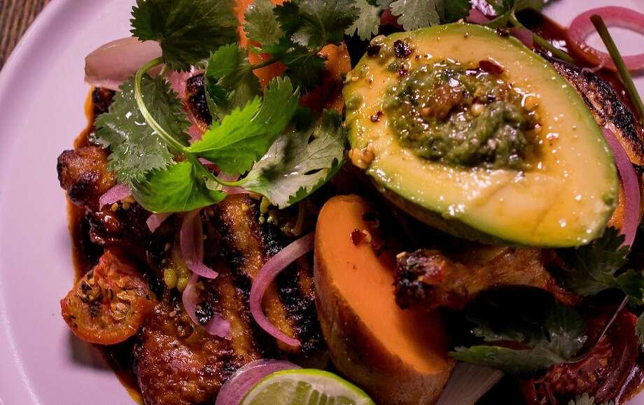 Sinaloa chicken at International Smoke. Photo: John Storey, Special To The Chronicle