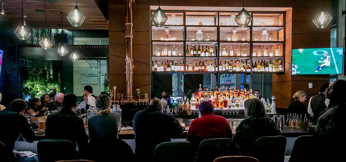 The bar at International Smoke in San Francisco, Calif. is seen on January 6th, 2018.