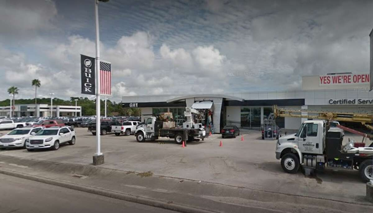 Police are investigating a Jan. 12 shooting at Gay Automotive in Dickinson.
