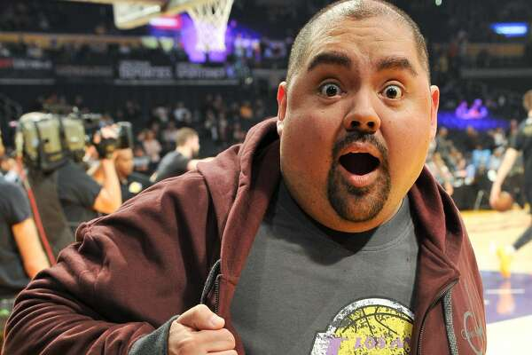 LOS ANGELES, CA - JANUARY 11:  Comedian Gabriel Iglesias aka Fluffy attends a basketball game between the Los Angeles Lakers and the San Antonio Spurs at Staples Center on January 11, 2018 in Los Angeles, California.  (Photo by Allen Berezovsky/Getty Images)