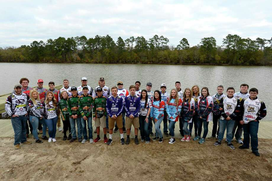 High school anglers from teams around Southeast Texas at Collier's Ferry Park. The high school fishing season kicks off this weekend.  Photo taken Wednesday 1/10/18 Ryan Pelham/The Enterprise Photo: Ryan Pelham / ©2017 The Beaumont Enterprise/Ryan Pelham