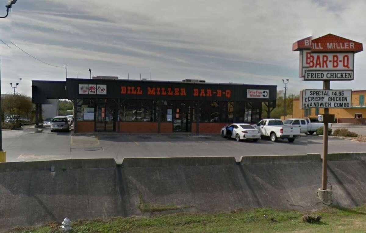 Bill Miller BBQ: 8285 Bandera Road Date: 09/29/2020 Bill Miller BBQ: 10626 Westover Hills Date: 09/15/2020