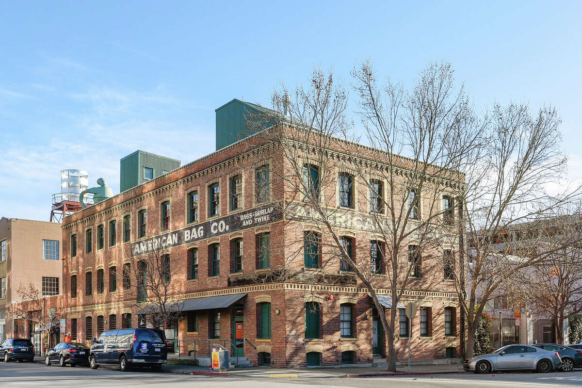 A 4,400-square-foot, full-floor loft in a historic building on Oakland's Jack London Square is available to rent for $8,500 a month.