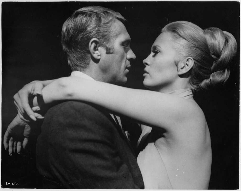 "In the 1968 hit ""The Thomas Crown Affair,"" Steve McQueen and Faye Dunaway combined Old Hollywood glamor with New Hollywood cynicism and sexual frankness. The changes in movies over the years will be analyzed by critic John DiLeo at special program in Danbury. Photo: Contributed Photo / Contributed Photo / Connecticut Post Contributed"