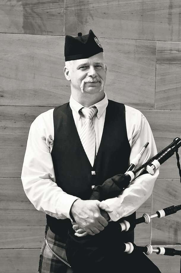 "The Hartford Symphony Orchestra presents a ""Scottish Fantasy"" Jan. 19-21, featuring Maestro Stefan Sanderling, Gareth Johnson on violin and Mike MacNintch on highland bagpipes, above. Photo: Hartford Symphony Orchestra / Contributed Photo"