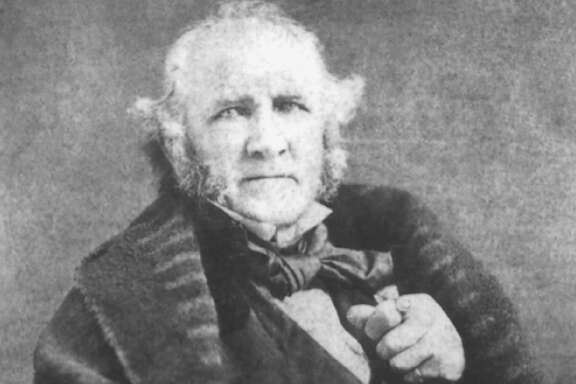 Sam Houston at the end of his life      Sam Houston Memorial Museum Collection / Texas A&M University Press