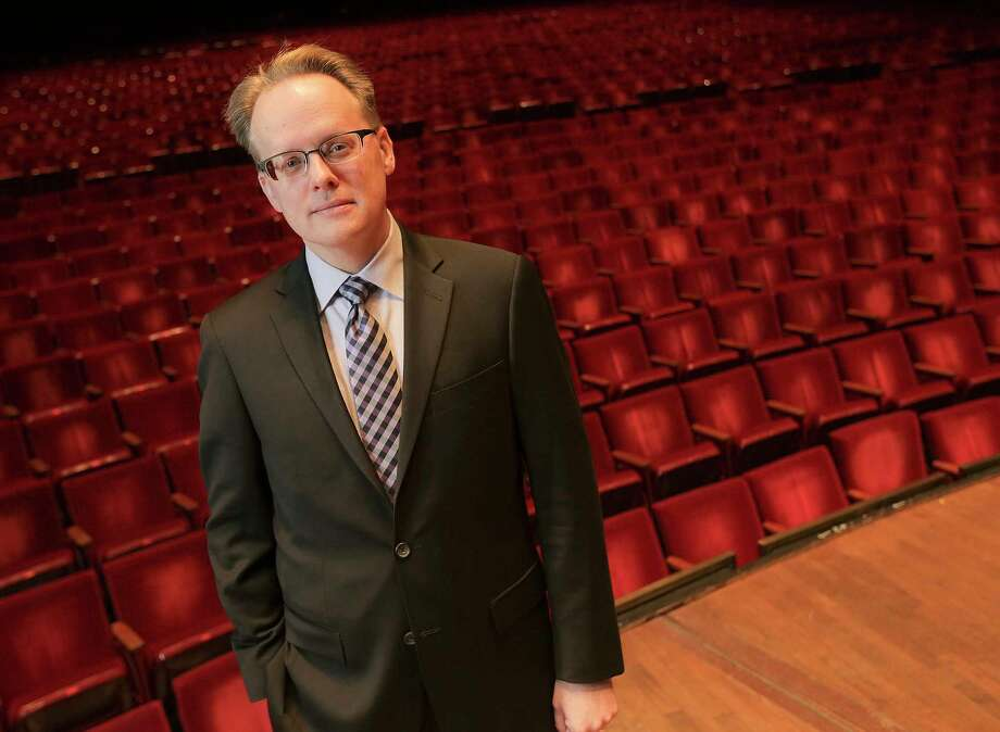 Portrait of John Mangum, Houston Symphony's new CEO on Friday, Jan. 12, 2018, at Jones Hall in Houston Photo: Elizabeth Conley, Houston Chronicle / © 2018 Houston Chronicle