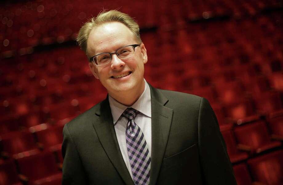 Portrait of John Mangum, Houston Symphony's new CEO on Friday, Jan. 12, 2018, at Jones Hall in Houston Photo: Elizabeth Conley, Houston Chronicle / © 2018 Houston Chronicle
