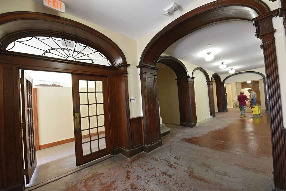 Norstar is finishing redeveloping the former YMCA to house seniors on Friday, Dec. 29, 2017 in Schenectady, N.Y. (Lori Van Buren / Times Union)