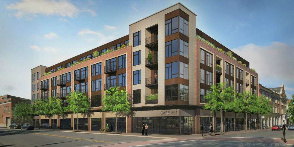 The Rosenblum Companies is renovating the former Troy Record building in downtown Troy. The building, renamed The News Apartments, has 101 apartments.