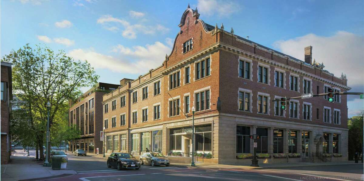 The Rosenblum Companies is renovating the former Troy Record building in downtown Troy. The building, renamed The News Apartments, will include 101 apartments.