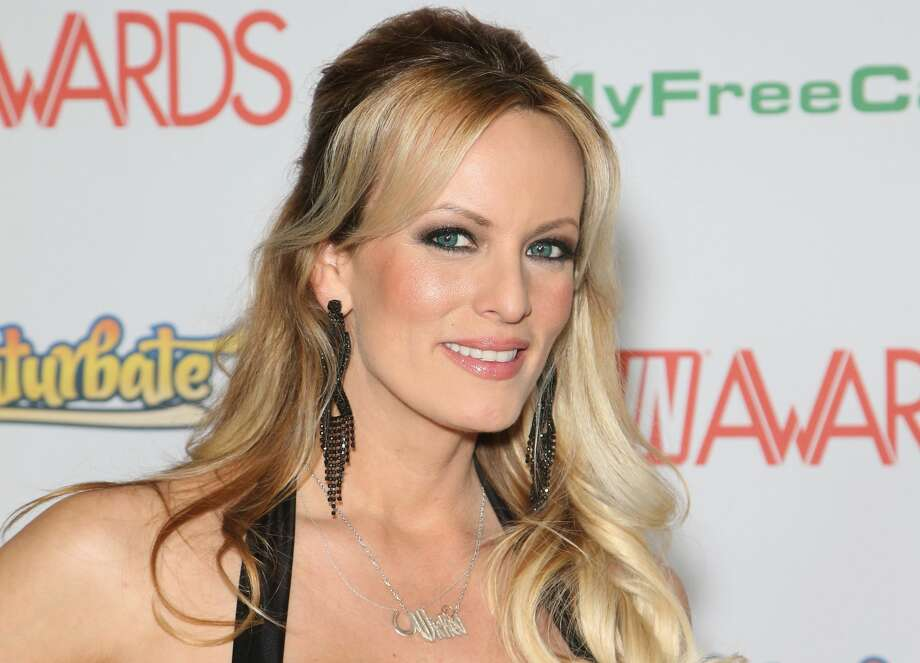 Donald Trump and Stormy Daniels: Actress Stormy Daniels in 2008 in Las Vegas. Daniels, whose real name is Stephanie Clifford, reached a $130,000 deal a month before the 2016 election to keep silent on an alleged 2006 sexual encounter with Trump, according to the Wall Street Journal. Photo: Gabe Ginsberg/Getty Images