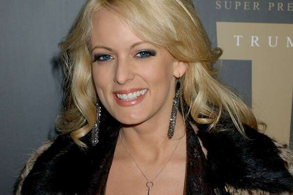 Stormy Daniels at a Trump Vodka launch party in 2007.