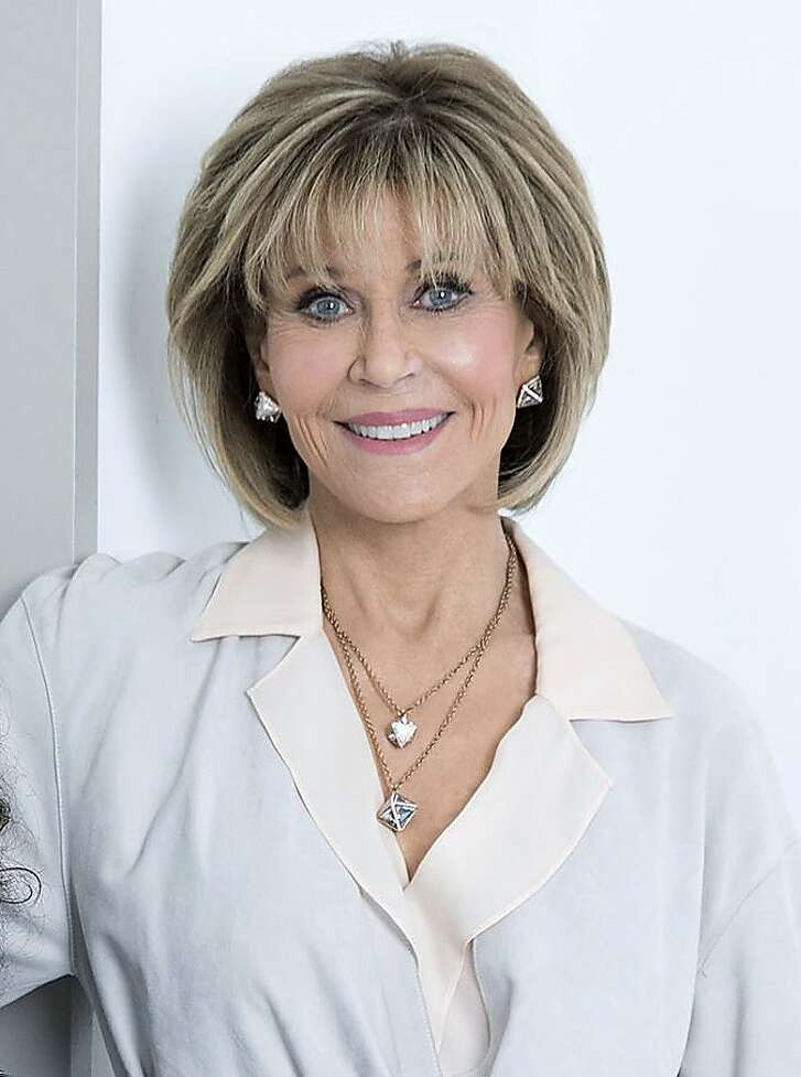 """In this March 24, 2017 photo, Jane Fonda, star of """"Grace and Frankie,"""" poses for a portrait in New York to promote the third season of the comedy series on Netflix. Fonda says she thinks having more women in power across all industries will help reduce the number of sexual harassment claims. (Photo by Amy Sussman/Invision/AP, File)"""