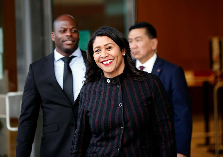 London Breed is the city's acting mayor. Photo: Michael Macor, The Chronicle