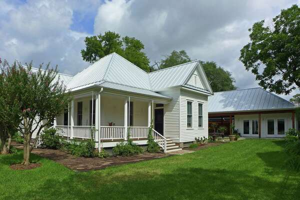 AFTER: The restored and remodeled Heights West Historic District home of Genevieve Withers.