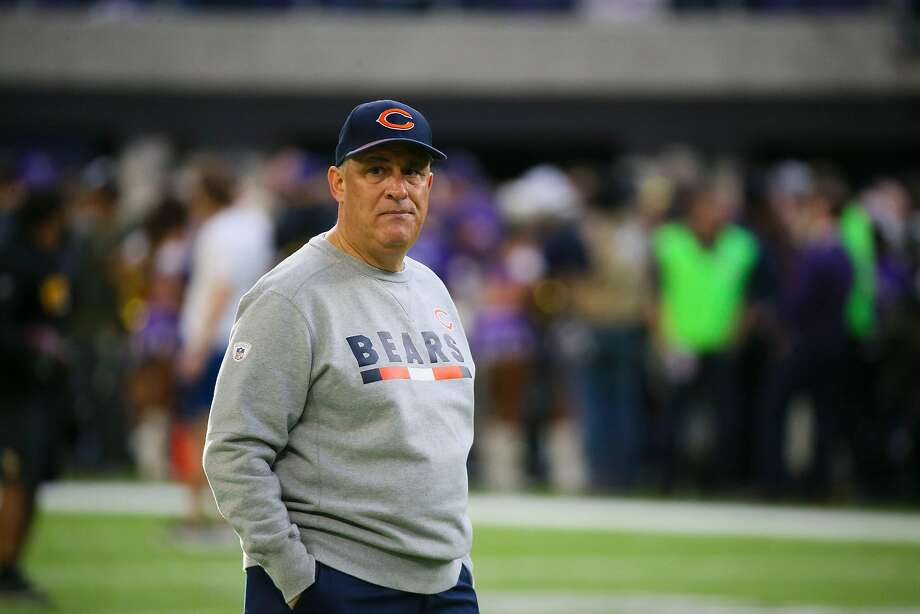 Vic Fangio interviewed for Chicago's head coaching job. Photo: Stacey Wescott, TNS
