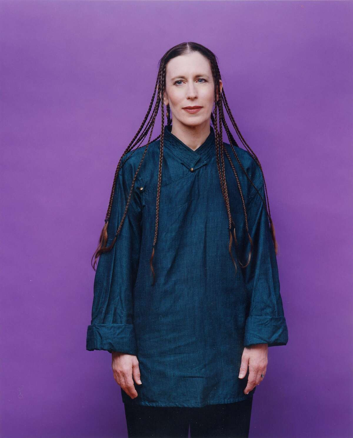 Photo of Meredith Monk. Photo by Jessie FromanRan on: 02-13-2006 Composer Meredith Monk uses the human voice in unique ways in her work.
