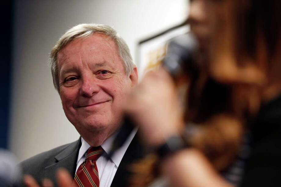 Sen. Dick Durbin of Illinois was the only Democrat in the room when President Donald Trump made vulgar comments about Haiti and African countries, and said the words were clearly racial.  Photo: Kiichiro Sato, STF / STF