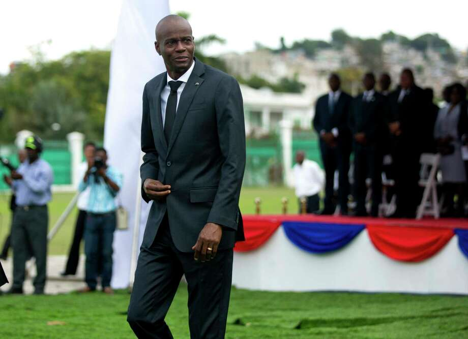 """Haiti President Jovenel Moise's government denounced what it called President Donald Trump's """"racist"""" view of Haitian and African immigrants. Photo: Dieu Nalio Chery, STR / Copyright 2018 The Associated Press. All rights reserved."""