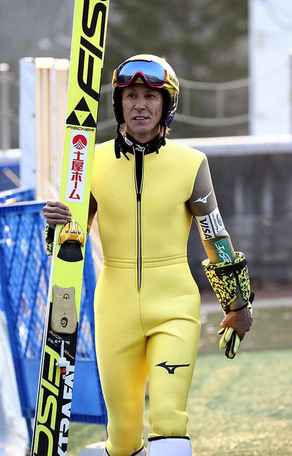 Noriaki Kasai, 45, secures record 8th appearance in Games. Photo: Japan News-Yomiuri Photo / Japan News-Yomiuri