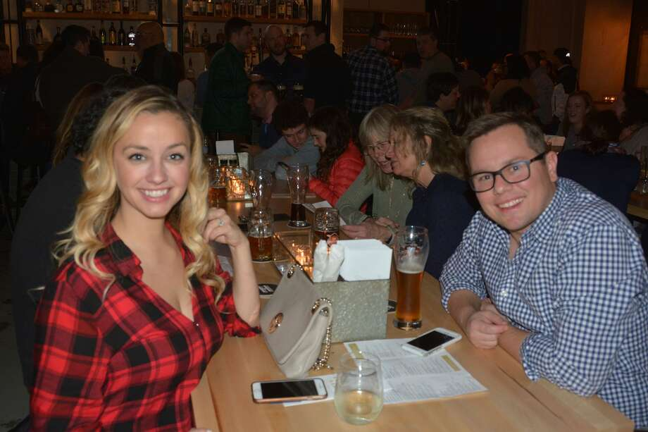 Bridgeport's newest beer garden, Harlan Haus, opened on January 10. Were you SEEN enjoying beer and German food on January 12, 2018? Photo: Vic Eng / Hearst Connecticut Media Group