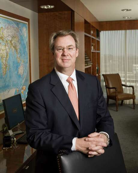 David Williams, CEO of Noble Corp., for 2008 Chronicle 100 / © Nash Baker 713-529-5698