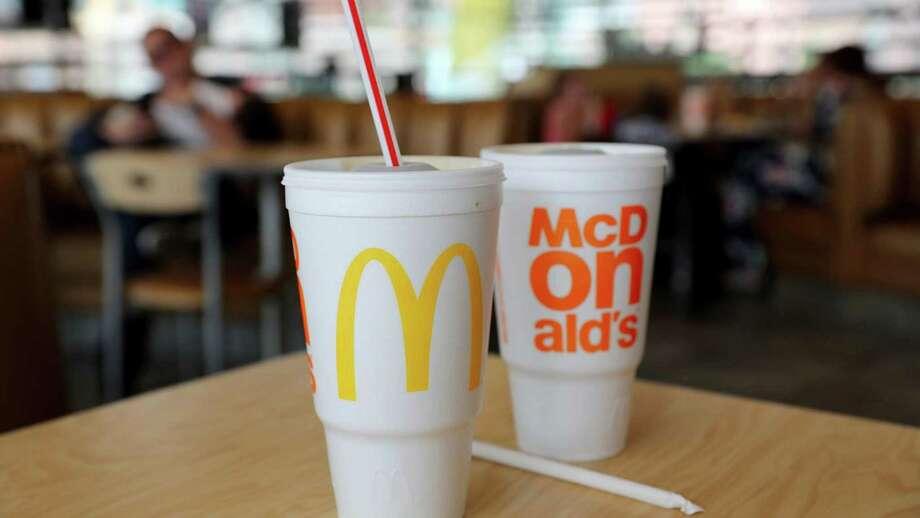 McDonald's beat back a shareholder resolution to quash foam cups. Photo: Michael Tercha, MBR / Chicago Tribune