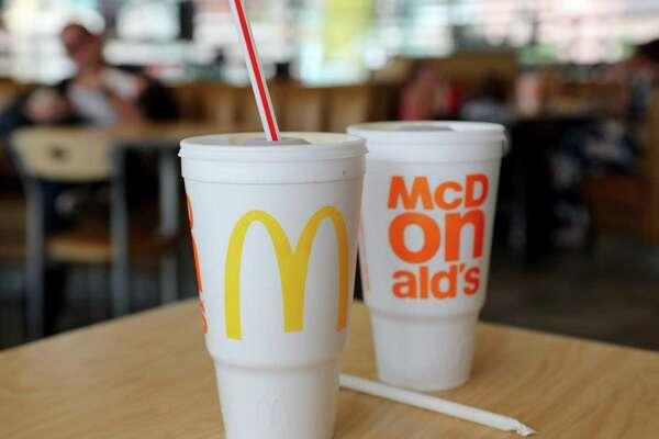 McDonald's beat back a shareholder resolution to quash foam cups.